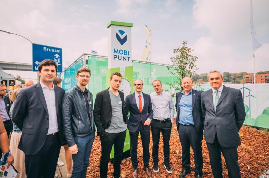 Eerste privaat mobipunt in Vlaanderen