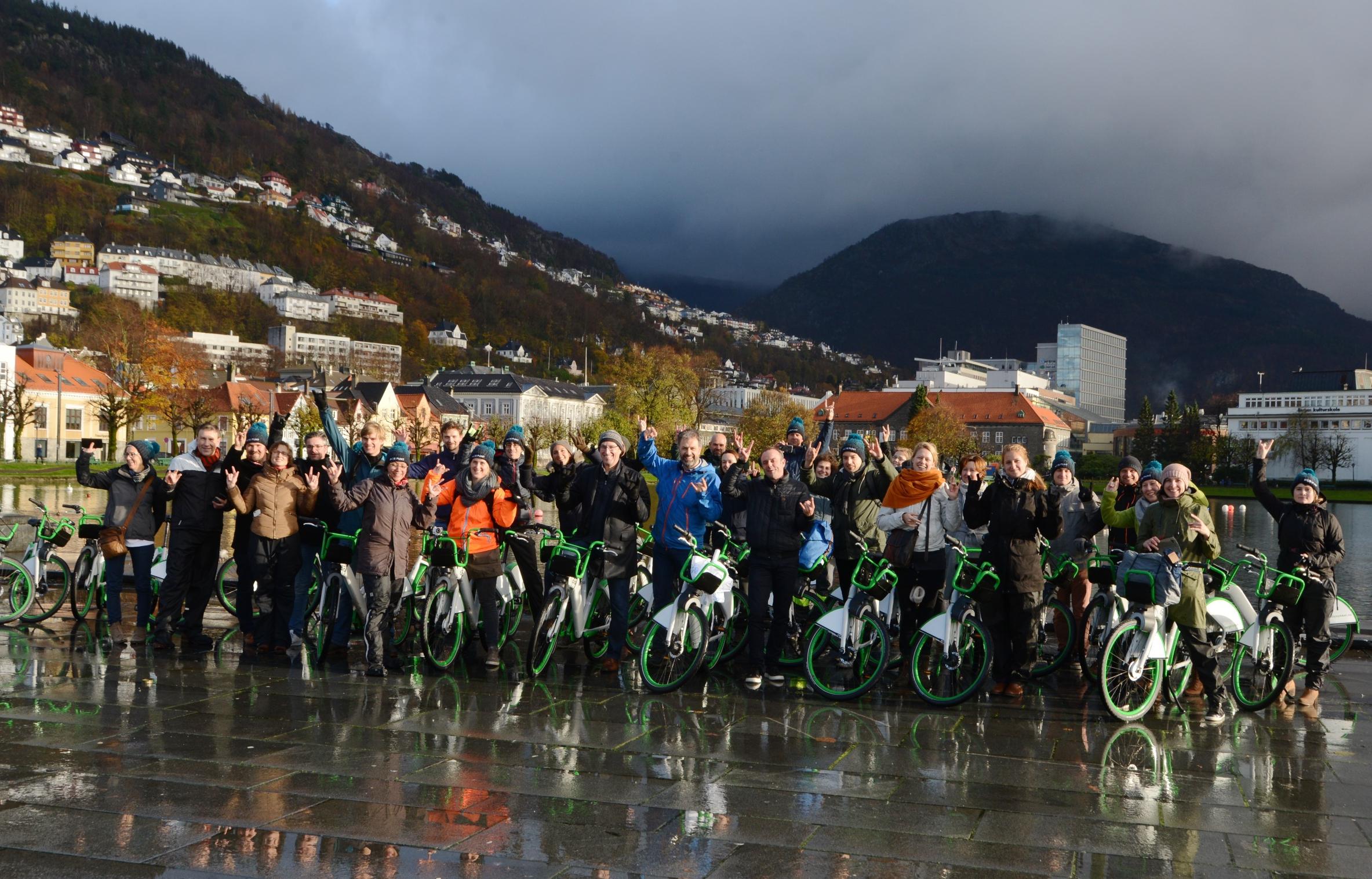 Eerste mobipunt studiereis Bergen